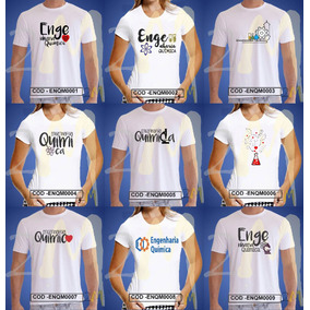 Camiseta Engenharia Química Baby Look Camisa Faculdade