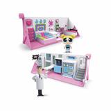 Chicas Superpoderosas Playset Dormitorio Laboratorio Edu