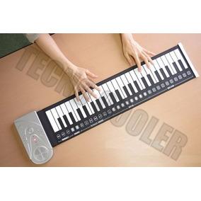 Teclado Organo Piano Plegable Portatil Parlante Tecno Cooler