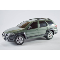 Fiat Palio Weekend Adventure Verde Musgo 1:18 Controleremoto