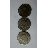 Moneda 10 Pesos Hidalgo Cupro Niquel Año 1976 Delgada Unc