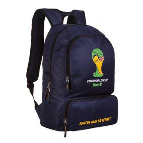 Mochila Santino Fifa Copa Do Mundo 2014 Brasil