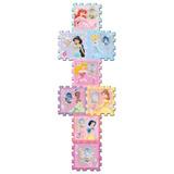 Piso Espuma Soft Tiles Princesas 8 Pcs 31x31 Cm Envio Gratis