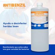 Antibenzil Tintura Quirúrgico Desinfectante Sin Color Litro