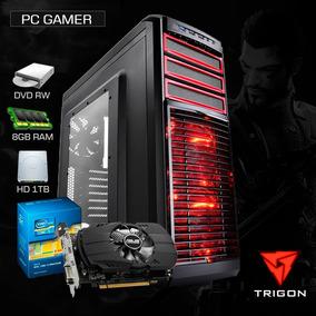 Pc Gamer I5 3.6 Ghz,8gb Ram,1tb,2gb 1050 Gtx, Dvd - Promoção