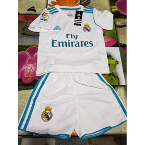 Nuevo Uniforme Playera Real Madrid Local 2018 Niño Ronaldo