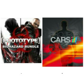 Prototype 1, 2 Y Proyect Cars Ps4 (digital Cuenta Completa)