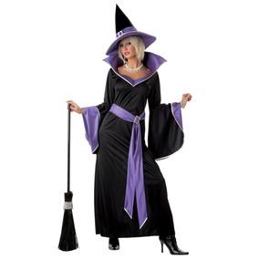 Disfraz Importado Para Adulto De Bruja Elegante