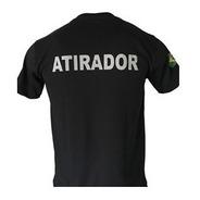 Camiseta Atirador Cac -  Exercito Brasileiro