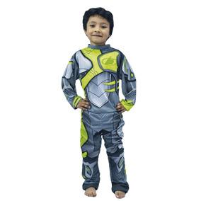 Disfraz Max Steel Talle 0 Y 1 Jugueteria Bunny Toys