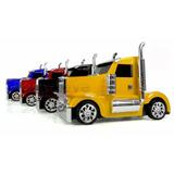 Caminhão Caixa De Som Caixinha Portatil Cabine Truck Usb Fm