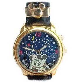 Mickey Con El Ratón De Minnie ¡el Reloj Musical De Lorus Ju