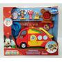 Fisher Price Auto Caravana De Mickey Con Acc Y Figuras R9041
