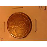 Moneda Alemania Nazi Bronce 1938 Tercer Reich