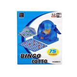 Bingo Lotto Bolillero Lotería Juego Familiar 75 Numero Nuevo