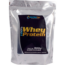 Whey 100% 900g Nutratec - Natural