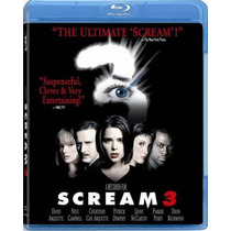 Blu Ray Scream 3 El Ultimo Grito Wes Craven Tampico Madero