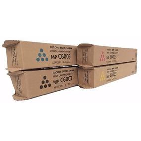 Jogo Completo Toners Ricoh Mp C4503 C5503 C6003 Original