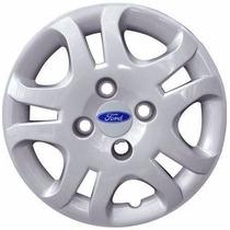 Calota Ford Courier Aro 14 - Jogo 4 Peças
