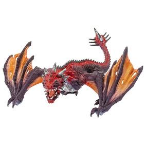 Schleich Réplica De Figura De Dragón, Color Rojo Y Amarillo