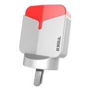 Cargador Soul Carga Rapida X3 Usb + Cable Lightning iPhone