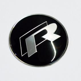Emblema Do Volante R Line Rline Vw Volkswagen Golf Acessório