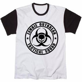 Camisa Camiseta Blusa Caveira Skull Tatico Zombie Kings Top