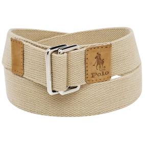 Cinturon Hombre Polo Hpc Cj002 Textil Beige Env Inmediato Q ab86f928a67f
