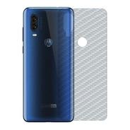 Película Traseira Fibra Carbono Motorola Moto One Vision