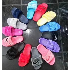Cholas Sandalias Nike Peludas Tallas 35 Al 40 Importadora212