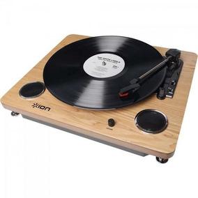 Toca Discos Com Alto Falante + Conversor Digital Mp3 Archiv