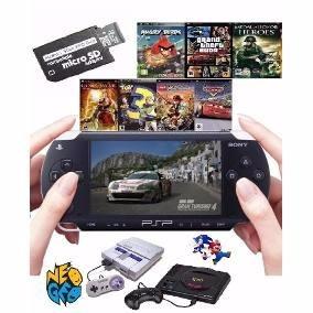 Memoria 16 Gb Psp Com 100 Jogos Completos