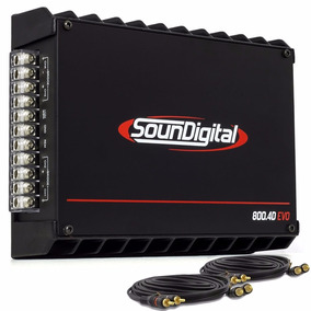 Módulo Soundigital Sd800 Evolution Il Sd 800 Rms 4 Canais