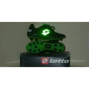 Botines Lotto Verde I Negro Nuevo!!