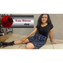 Vestido Calavera Mexicana Dark, Ropa Rock, Luna Alterna Shop