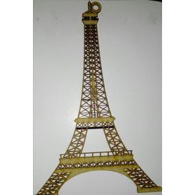 Torre Eiffel Madera Mdf