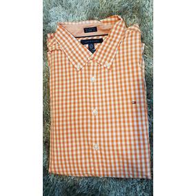 Camisa De Vestir Tommy Hilfiger Nueva De Hombre Talla Xl