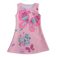 Vestido Para Niña Mariposas - Ig
