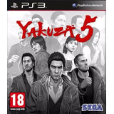 Yakuza 5 Ps3 Digital