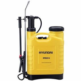 Fumigadora Aspersora Bomba Manual Hyundai 22 Litros Hyd2214