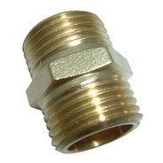 Union Rosca Para Dispenser De Agua Bronce 3/8 A 3/8