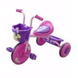 Triciclo Bambino Infantil Niño Niña 3 Colores Montable Rosa