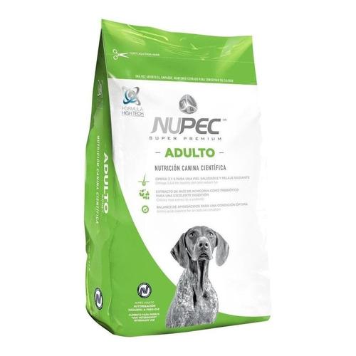 Alimento Nupec Nutrición Científica para perro adulto de raza mediana/grande sabor mix en bolsa de 8kg