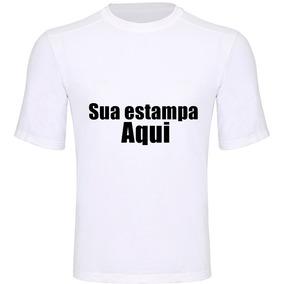 Camiseta Personalizada- Estampa Frente E Verso