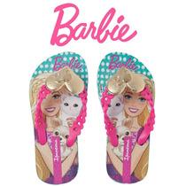 Chinelo Barbie Pop Glam Ipanema Rosa 25906