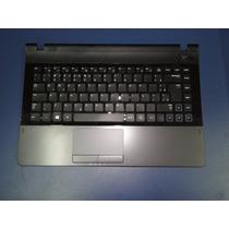 Teclado Notebook Samsung Np300 Np300e4a Np305 Topcase Ç