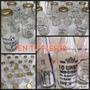 10 Botellitas De Vidrio Con Frases Candy Bar Frascos Botella