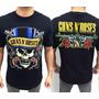 Camiseta Guns N Roses E764 Consulado Caveira Rock In Rio