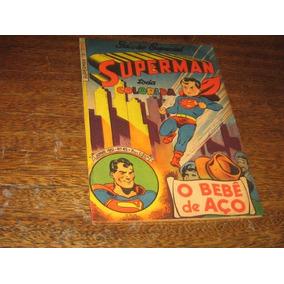 Superman 1ª Serie Nº 45 Junho 1951 Especial Cor Ebal Origin