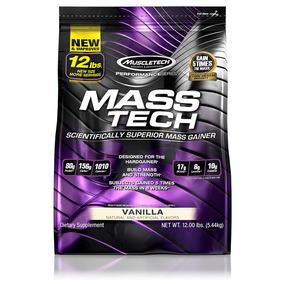 Proteína Mass Tech 12 Lb Vainilla